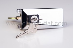 Key locking tailgate chromed zamak f126 old type