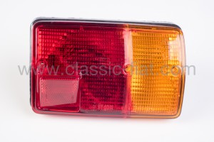 Complete rear lamp f126 ( glass on 3 screws)