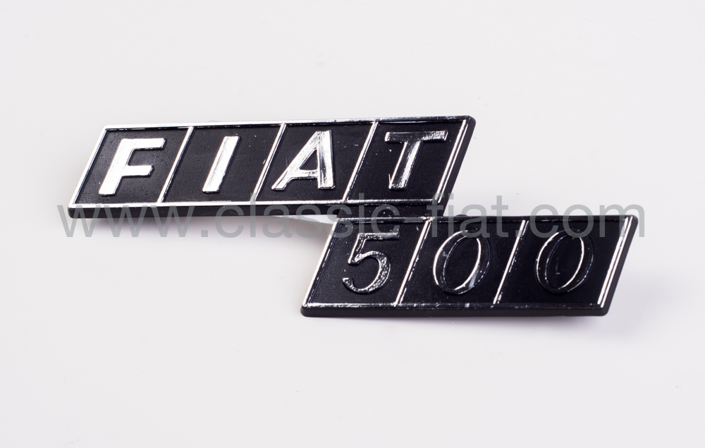 Siglia Fiat 500 Posteriore Classic Fiat Com